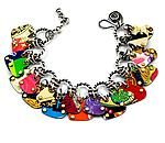Charmed Hearts Convertible Bracelet & Necklace: Beth Taylor: Metal Bracelet or Necklace - Artful Home
