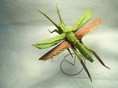 Amazing origami insects from 1 piece of paper by Brian Chan
