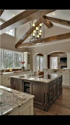 7 Unique Ideas Can Change Your Life: Mid Century Kitchen Remodel Home farmhouse kitchen remodel cabinets.Ikea Kitchen Remodel Little Houses narrow kitchen remodel.Ikea Kitchen Remodel Little Houses. New Kitchen, Kitchen Dining, Kitchen Ideas, Kitchen Decor, Kitchen Designs, Awesome Kitchen, Kitchen Layout, Country Kitchen, Rustic Kitchen