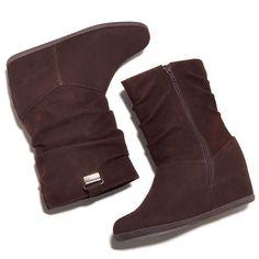 Trendy Hidden Wedge! High-fashion footwear meets super-cozy design. Wave-molded Cushion Walk® footbed. Regularly $44.99, buy Avon Shoes online  at http://eseagren.avonrepresentative.com