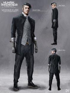 ArtStation - Human Interface - Character concept art ( Werner Kube ), Darius Kalinauskas