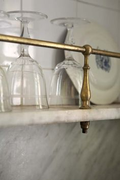 ..Great shelving idea!  Kichen, butler's pantry, bar, sculler, bathrooms, just gorgeous!  Class up just about any space!