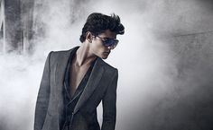 #Atribute to Frames: An Emporio Armani Fall/Winter 2010 eyewear campaign by Mario Sorrenti. Find out more on Armani.com/Atribute