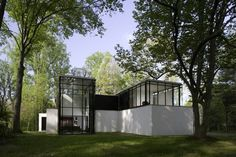 Black White Residence in Maryland by David Jameson Architect
