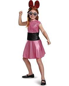 Blossom Classic Powerpuff Girls Cartoon Network Costume