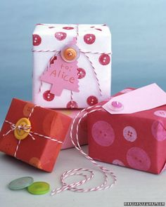 wrapping presents with twine - Google Search