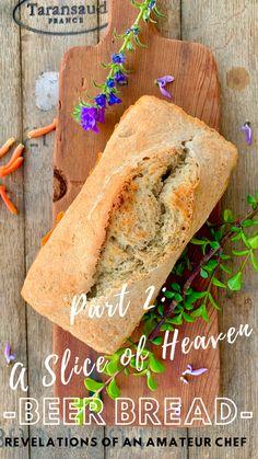 A Slice of Heaven (Part 2) - Beer Bread Beer Bread, Bread Bun, Baking Buns, Bread Baking, Easy Delicious Recipes, Yummy Food, Tasty, My Recipes, Bread Recipes