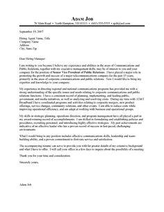 cover letter public affairs assistant
