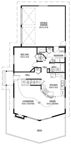 A Frame House Plan 99943