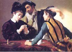 Caravaggio - Cardsharps 1594
