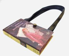 I totally want a book purse... I just can't decide which book is the best!