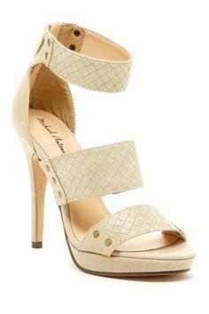 HauteLook   Spring Preview: Women's Shoes: Tudor Open Toe Platform Pump