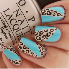 Cheetah print with w/ some color