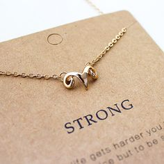 Ram Strong Necklace #Aries
