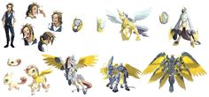 digimon / tamers pack 1 by Riza23 on DeviantArt