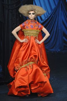 Christian Dior Spring 2008 Couture Fashion Show - Natasha Poly