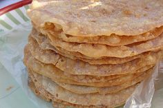 "Get Cinnamon-Sugar Crisps (""Bunuelos"") Recipe from Food Network Mexican Cooking, Mexican Food Recipes, Dessert Recipes, Diet Desserts, Mexican Bread, Mexican Dishes, Ponche Recipe, Mexican Bunuelos Recipe, Cooking Chef"