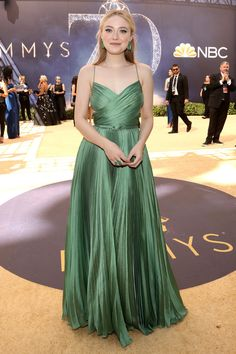 d808524ca4e8 Dakota Fanning   The 2018 Emmys is here, but before the show itself kicks  off