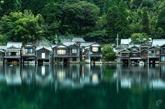 Photo: 伊根の舟屋 - Ine no funaya the coast of Kyoto pref. #kyoto #京都 #伊根 #伊根町 #cooljapan
