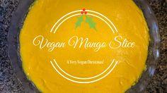 Raw Vegan Mango Slice - Deliciously refreshing!
