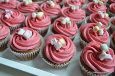 Cupcake Frosting Recipes, No Cook Desserts, Hot Fudge, Mini Cupcakes, Sweet Treats, Deserts, Easy Meals, Food And Drink, Sweets
