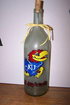 Ku Wine Bottle. Love.