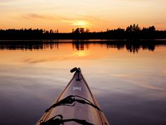 Wouldn't You rather be Kayaking? www.TheRiverRuns.info #kayaking #kayak #sunset