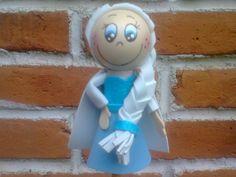 Fofulapiz de la princesa Elsa de frozen