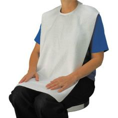 Drive Medical RTL9101 Lifestyle Terry Towel Bib, White by Drive Medical. $14.69