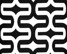 Black and  White Modern Geometric Embrace  Curtains  Grommet