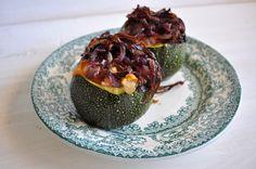 Courgette Recheada * Stuffed Zucchini
