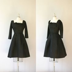 1950s Harvey Berin dress / vintage 50s designer party by Coralroot, $285.00