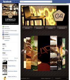 Garibaldi Bisztró Facebok app live