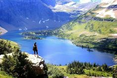 AUGUST Glacier National Park, MT (specifically Hidden Lake) -- Gonna have to be fit to hike and raft my ass off! Vacation Places, Dream Vacations, Vacation Spots, Places To Travel, Places To See, Montana Living, Montana Homes, Glacier National Park Montana, Glacier Np