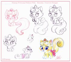 David Gilson - Disney Palace Pets - Aurora Cat