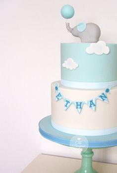 https://flic.kr/p/wYgyPm | Elephant christening cake