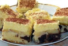 Almás krémes 2. Sweet And Salty, Love Is Sweet, Hungarian Desserts, My Recipes, Cooking Recipes, Oreo, Cheesecake, Food And Drink, Sweets