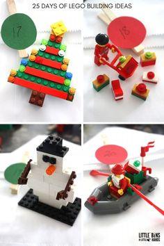 This printable 2019 LEGO Advent Calendar is a super fun Christmas countdown calendar for kids! Simple LEGO building ideas for the Christmas season! Birthday Countdown, Christmas Countdown Calendar, Diy Advent Calendar, Kids Calendar, Calendar 2020, Advent Calendar Fillers, Advent Calendars, Lego Activities, Christmas Activities