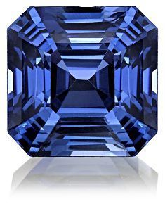 September - Sapphire ( also the stone for Virgos) gem jewelry facets