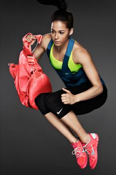 This Nike Lookbook - beautiful athletes and athletic gear + non-modelly bodies.  Nice.