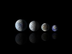 File:Relative sizes of all of the habitable-zone planets discovered to date alongside Earth.jpg