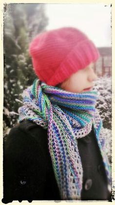 Nymphalidea knitting shawl