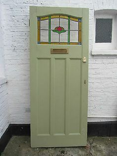 glass front door 34 x 82 inches more 1930 front door 1930 s doors