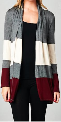 Dipped In Wine Cardigan Material: 96% Modal 4% Spandex Color: Grey, Light Pink & Wine Sizes: S, M, L