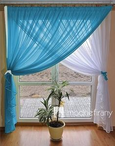 65 Adorable Window Curtains Design Ideas And Decor - Ideaboz Orange Sheer Swags With Rosettes To use curtains or not to use curtains? Choosing curtains is often an overlooked design decision, but it can really make or break a space. Cottage Curtains, Curtains And Draperies, Home Curtains, Kitchen Curtains, Window Curtains, Curtain Styles, Curtain Designs, Indian Home Decor, Diy Home Decor