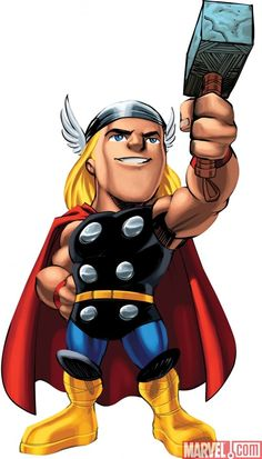 Marvel Super Hero Squad Thor