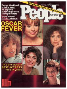 People magazine, April 3, 1978 — Oscar Fever: Best Actress — Diane Keaton (Annie Hall, winner), Shirley MacLaine (The Turning Point), Jane Fonda (Julia), Marsha Mason (The Goodbye Girl) & Anne Bancroft (The Turning Point)