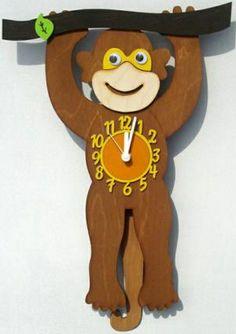 monkey clock