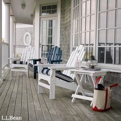Ready for a break, but no time for a vacation? A relaxing getaway can be as simple as fresh air and a lounging Adirondack chair. Lean back, close your eyes, and escape in your own backyard.