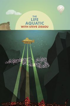 The Life Aquatic  Adobe Illustrator CS6  Afsoon Zizia
